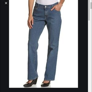 Levi's jeans 550 bootcut stretch high waist long